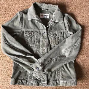 """Vintage Eddie Bauer green """"Jean"""" jacket"""